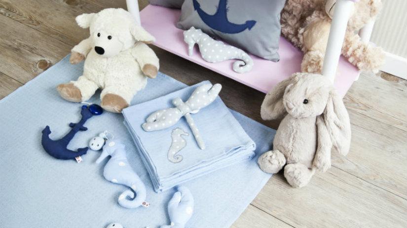 camerette per neonati peluche copertina