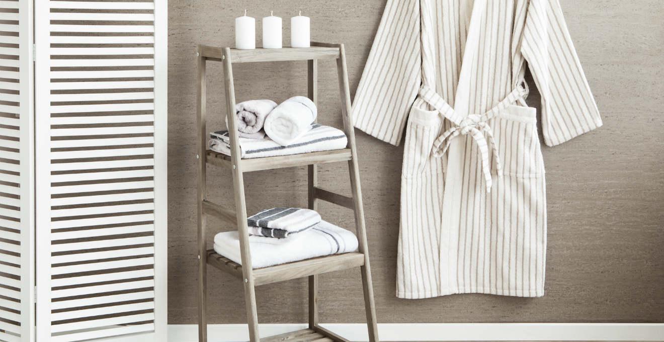 asciugamano per ospite