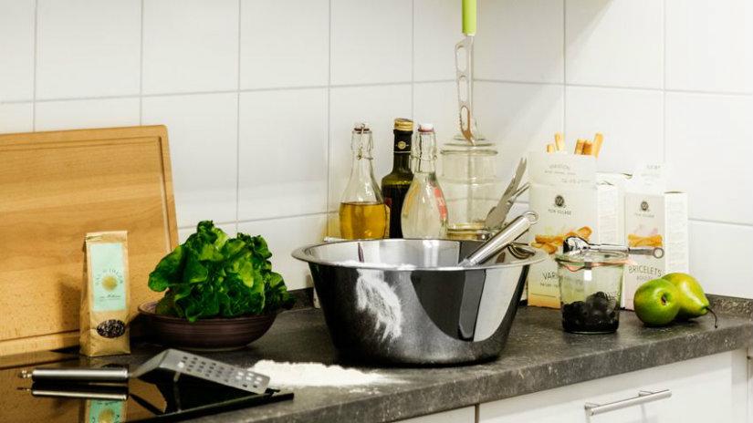 cucina piccola terrina mestolo