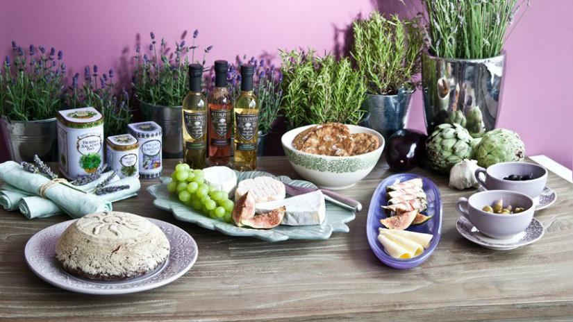 cucine provenzali lavanda cibo piatti aceto