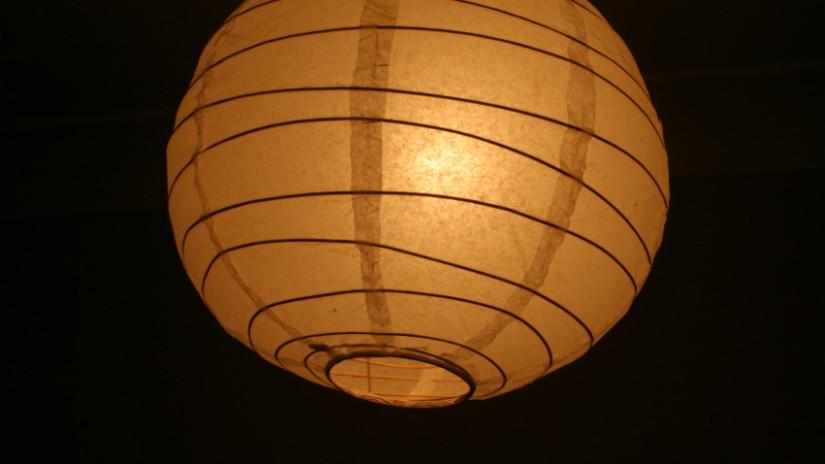 lampada a sospensione in carta di riso lanterna cinese plafoniere da soffitto