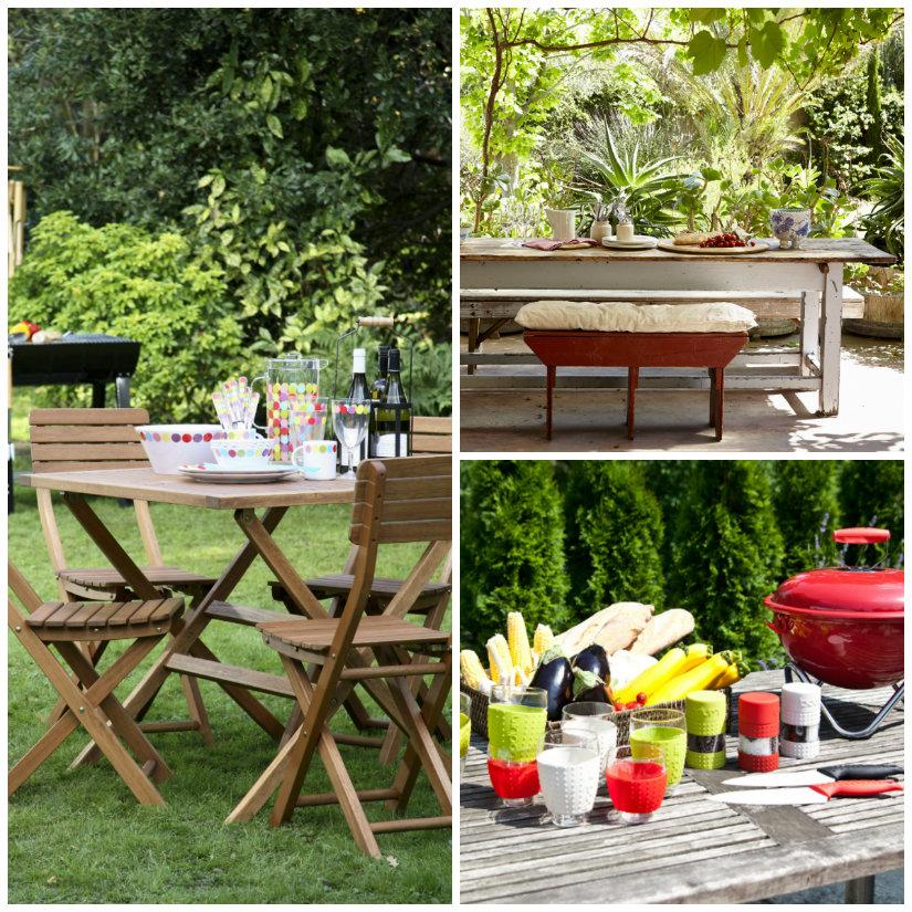 tavoli da giardino in legno sedie