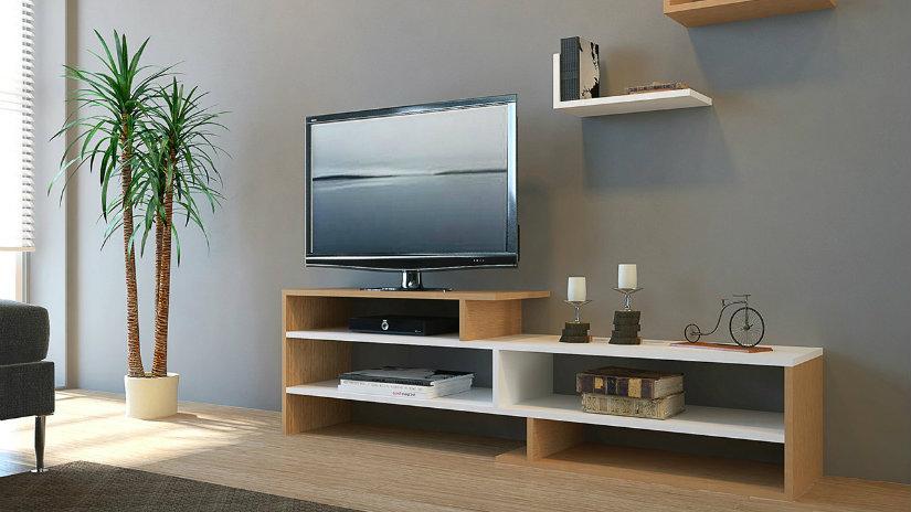 Tavolini In Vetro Porta Tv : Porta tv angolare: per serate con gli amici dalani e ora westwing
