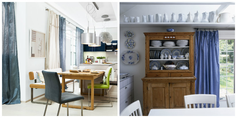 DALANI | Tende per cucina con mantovana: eleganza in casa
