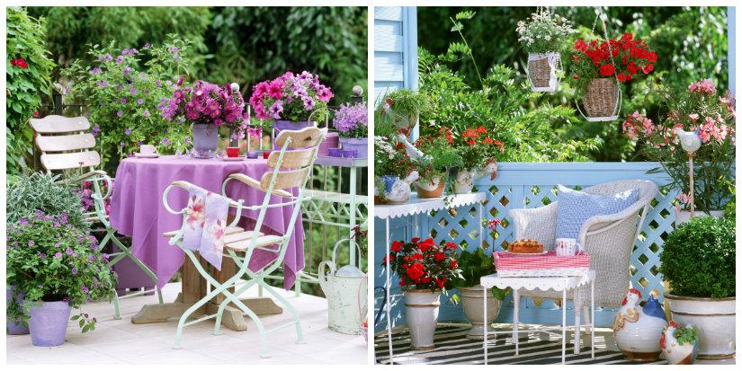 Ben noto DALANI | Vasi da balcone: verde in terrazzo TZ27