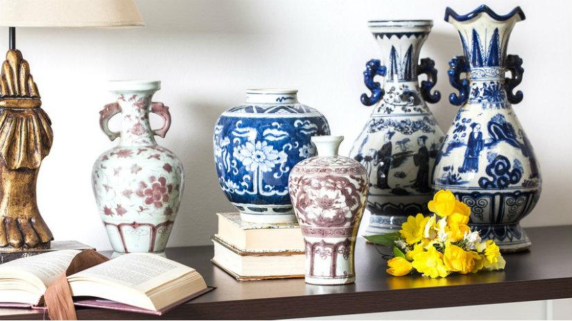 vasi giapponesi fiori lamopada