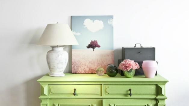 Soggiorno verde: un oasi di relax in casa  DALANI
