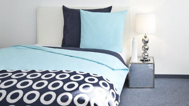 Copripiumino blu biancheria per il letto dalani e ora for Trapunta matrimoniale estiva