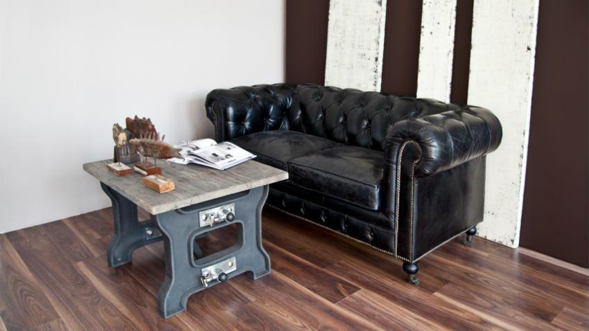divano letto in legno