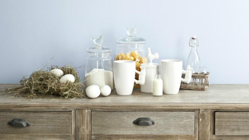 DALANI  Mobile buffet da cucina: stile tradizionale