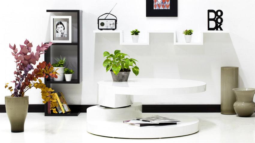 Parete attrezzata con scrivania mobili multifunzione for Arredamento per ufficio design contemporaneo