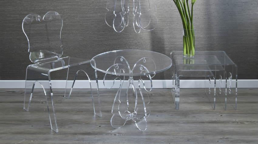 Tavolo quadrato di cristallo: elegante e classico - Dalani e ora ...
