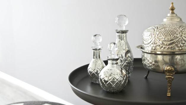 Tavolo rotondo in ferro battuto casa e outdoor dalani e - Tavolo ferro battuto e vetro ...
