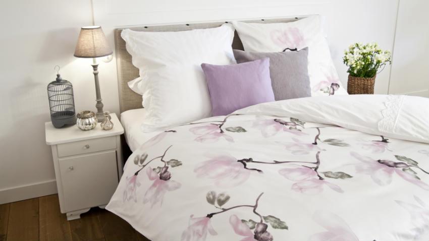trapunte provenzali tema floreali viola rosa