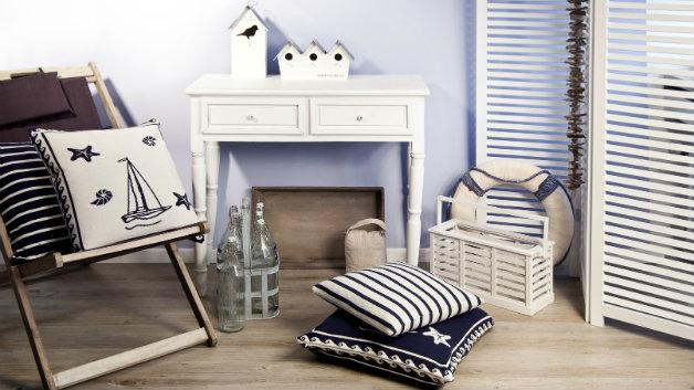 DALANI | Tende in stile marinaro: dettagli navy in casa