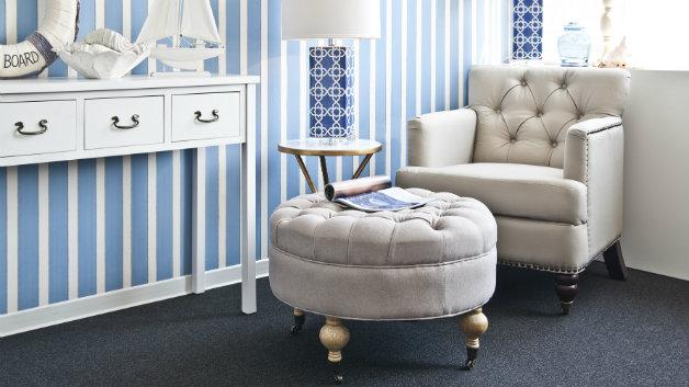 Poggiapiedi per divano