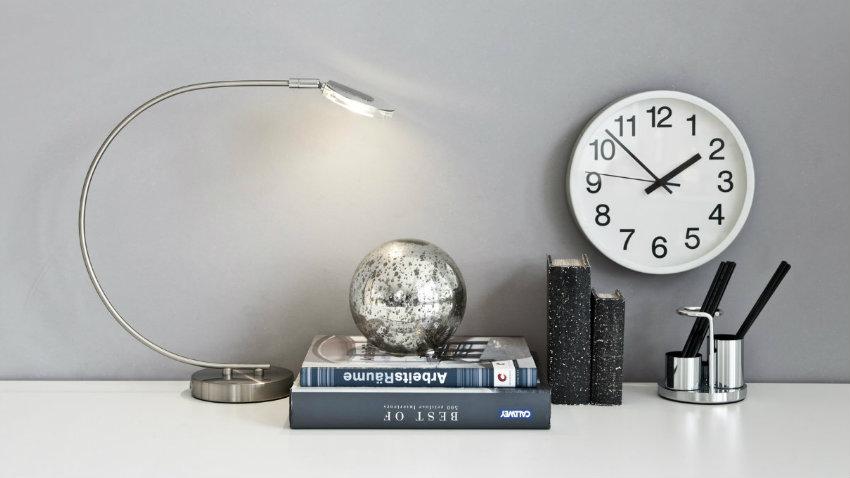lampada da scrivania a led