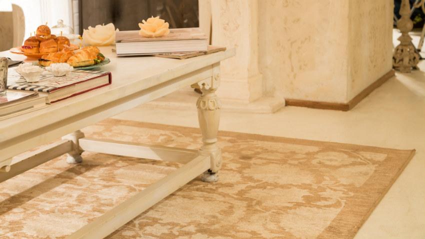 Soggiorni classici arredamento e mobili di classe for Tappeti arredo