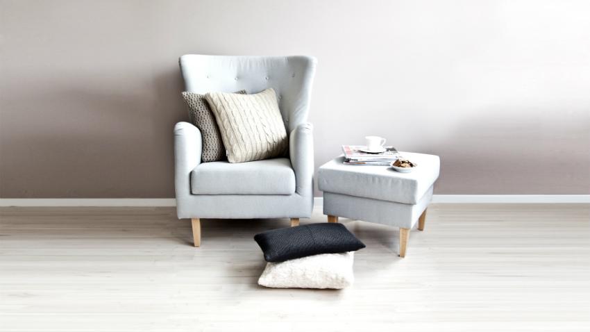 chaise longue bianca