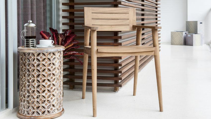 chaise longue da giardino