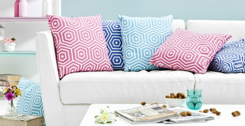 Cuscini tessili per la casa colorati e versatili dalani - Tessili per la casa ...