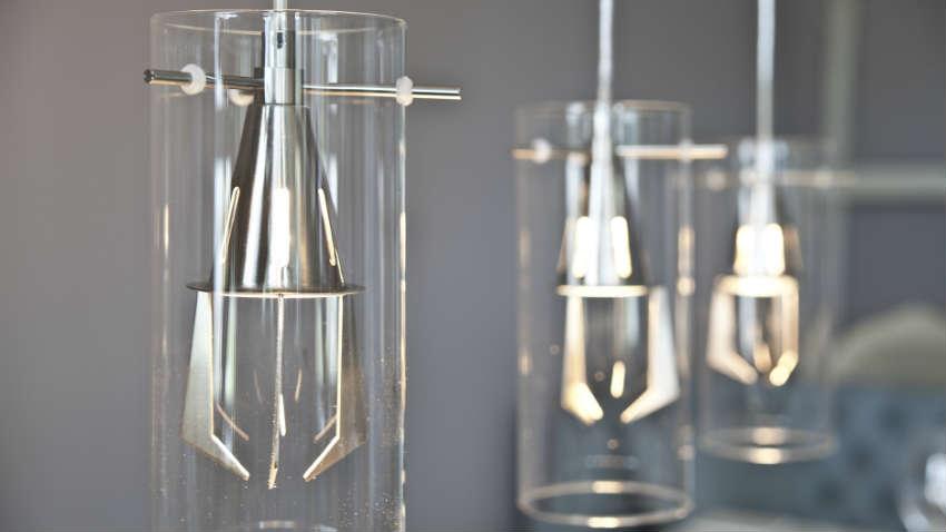 Lampadari da cucina a led illuminare con stile dalani e ora westwing - Plafonnier design salle de bain ...