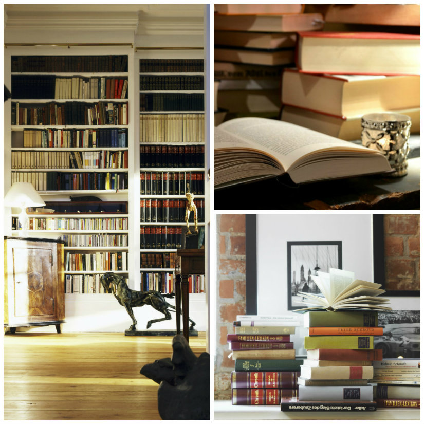 libreria antica libri scaffali accessori