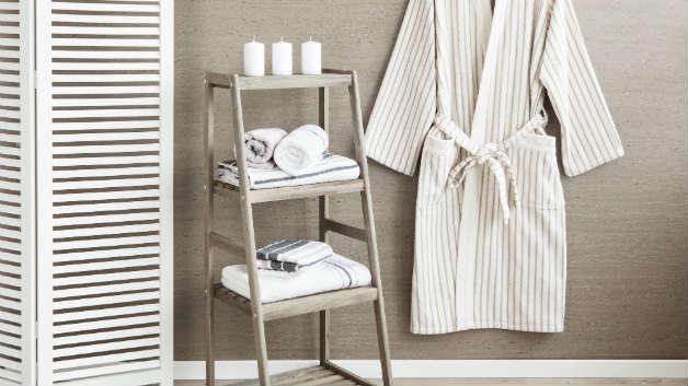 Scala portasciugamani rituali di bellezza e stile for Ikea scaletta bagno