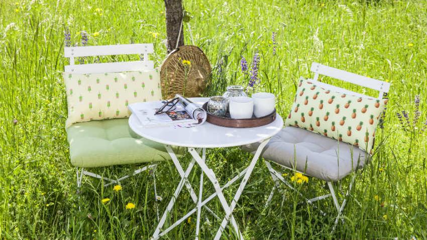 sedia da regista in alluminio per giardino e terrazzo