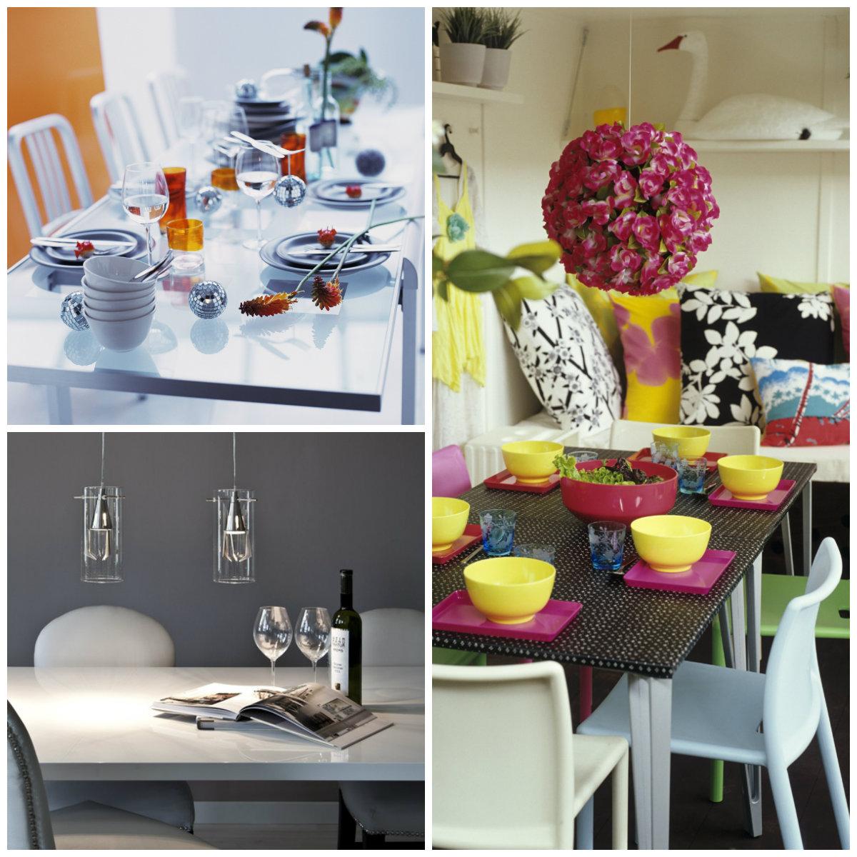 tavoli da pranzo di design tavolo design sedie fiori posate