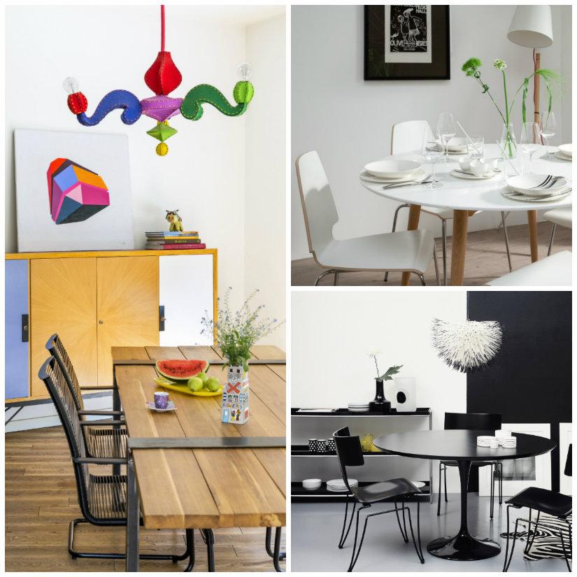 tavoli da pranzo di design tavolo design lampadario sedie