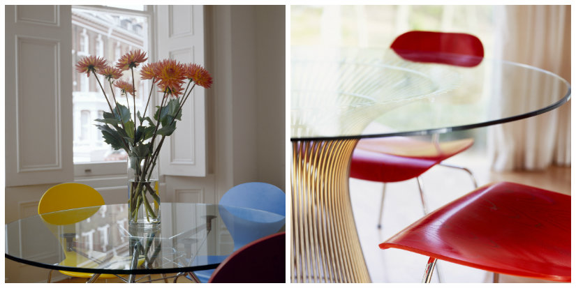 Tavoli di cristallo allungabili minimal design dalani e for Tavoli di design in cristallo