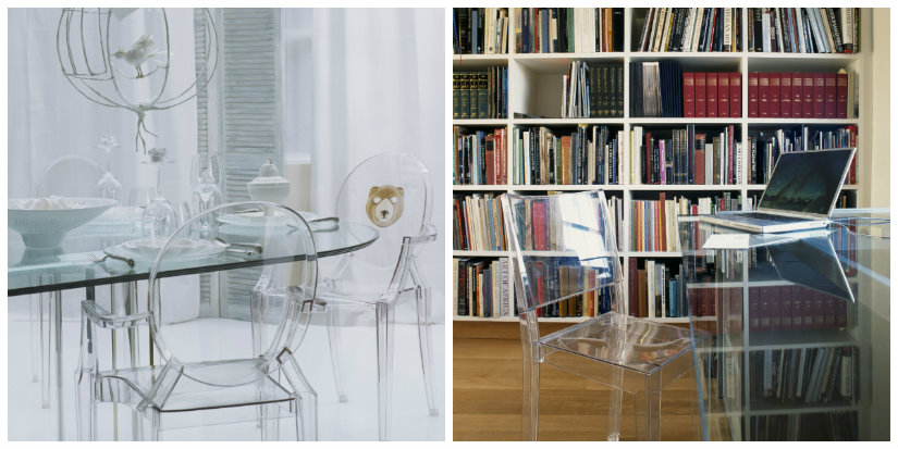 tavoli di cristallo allungabili minimal design dalani e