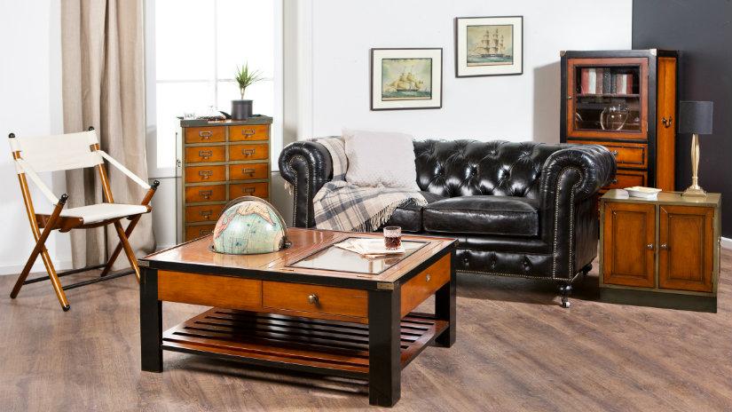 tavolino contenitore divano sedia da regista