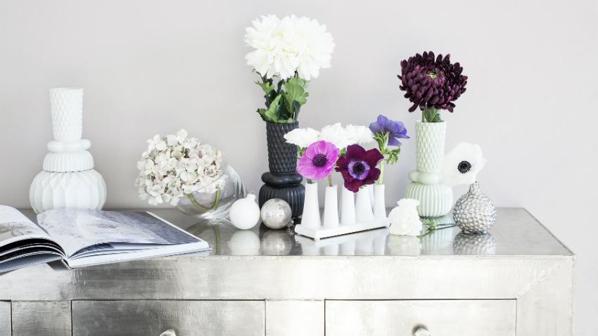 vaso smaltato ovale per piante