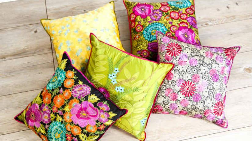 cuscini per sedie decorare con eleganza