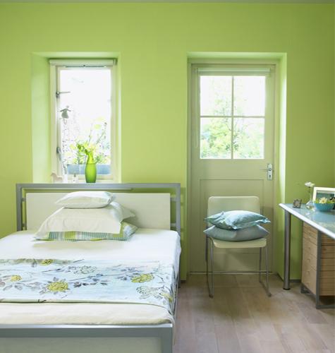 camera da letto verde se scegliete di arredare la vostra camera da ...