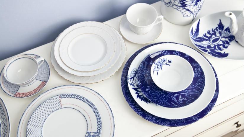 Piatti di design una tavola contemporanea e chic dalani - Servizio piatti design ...