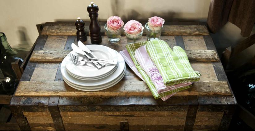 DALANI | Tende per cucina rustica: raffinati dettagli country