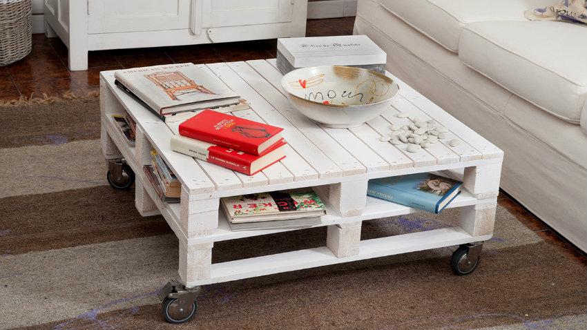 Arredare con i pallet ispirazioni preziose di riciclo - Mobili con bancali in legno ...