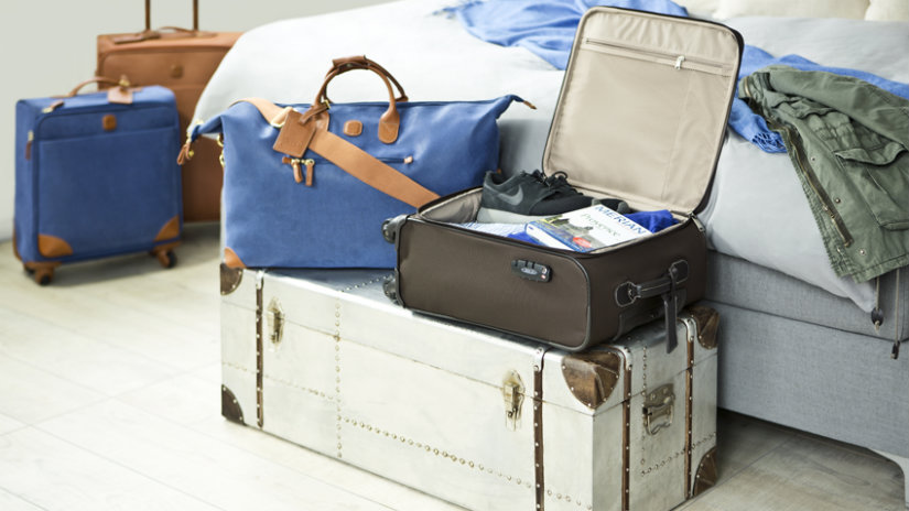 baule di design valigie letto