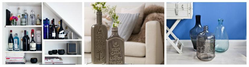 bottiglie per liquori decorative