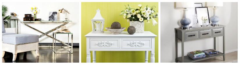 tavoli consolle allungabile in legno