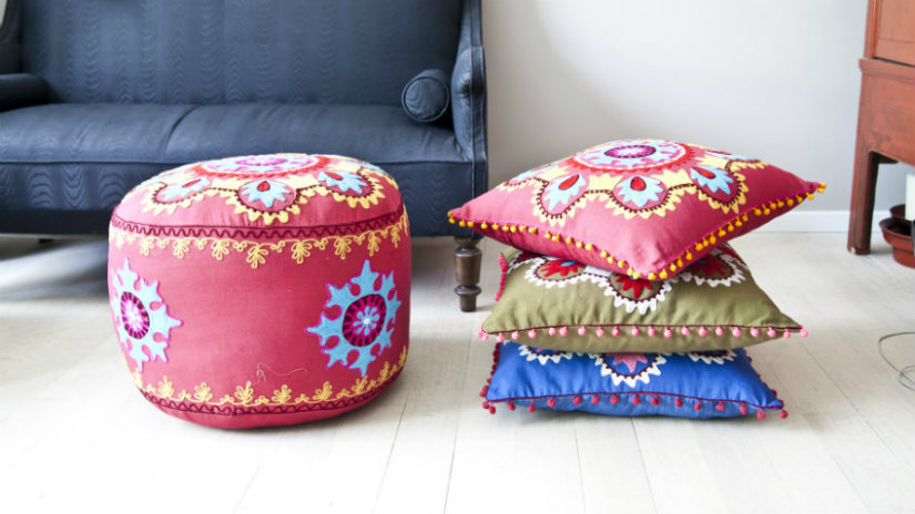 cuscini rotondi per sedie