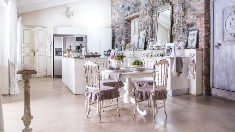idee per la casa sala da pranzo cucina sedie