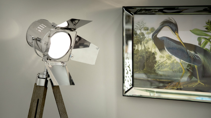 lampadario di modernariato
