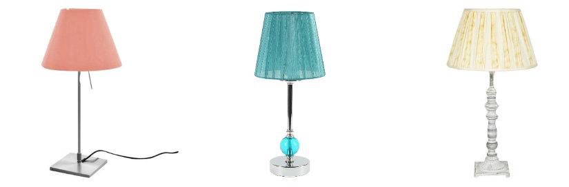 lampade colorate da comodino