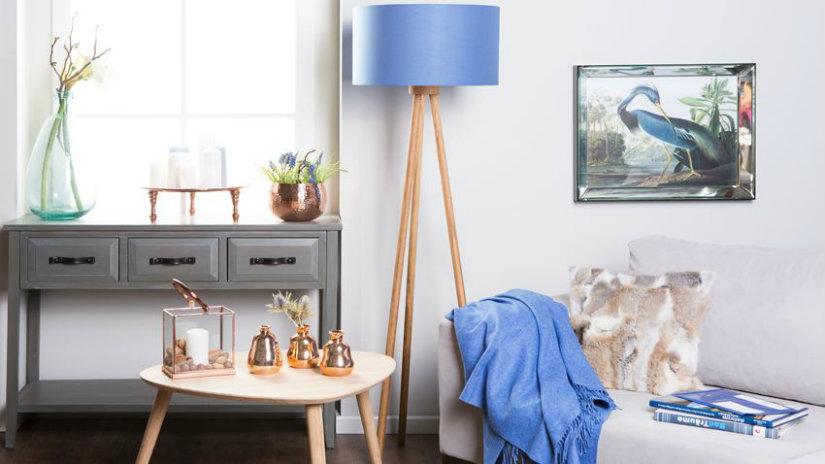 lampade da terra colorate luce e design in casa dalani e ora westwing. Black Bedroom Furniture Sets. Home Design Ideas