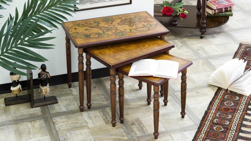 Mappamondo da tavolo