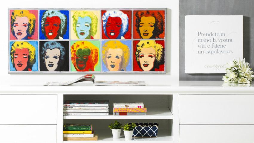 tavolo pop art
